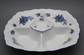 Compartment dish 40cm Ofelia Forget-me-not AL