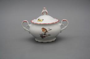 Tea sugar bowl 0,24l Ofelia Birds CL