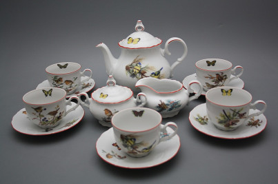 Tea set Ofelia Birds 15-piece CL č.1