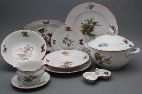 Dining set Ofelia Birds 25-piece GCL