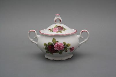Tea sugar bowl 0,24l Ofelia Elizabeth rose RL č.1
