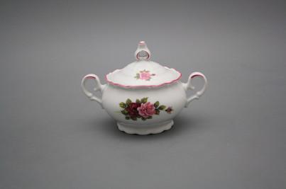 Coffee sugar bowl 0,15l Ofelia Elizabeth rose RL č.1