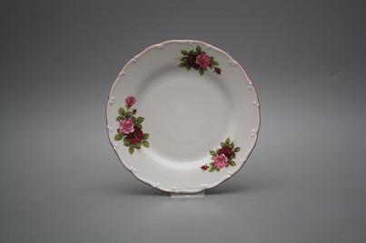 Dessert plate 19cm Ofelia Elizabeth rose CRL č.1