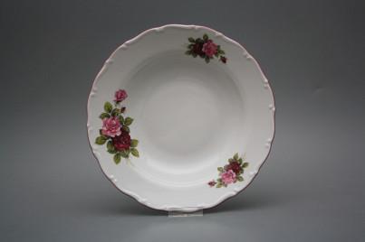 Deep plate 23cm Ofelia Elizabeth rose CRL č.1