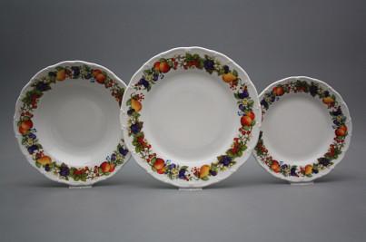 Plate set Ofelia Orchard 18-piece KBB č.1
