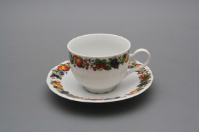 Tea cup 0,18l with saucer Ofelia Orchard BB