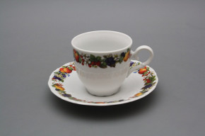 Coffee cup 0,18l and saucer Ofelia Orchard BB