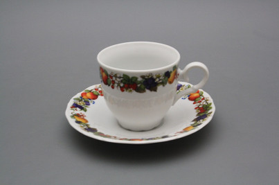 Coffee cup 0,18l and saucer Ofelia Orchard BB č.1