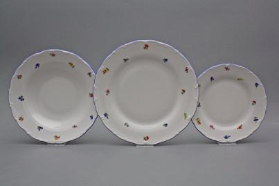Plate set Ofelia Sprays 18-piece AAL č.1
