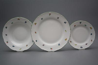 Plate set Ofelia Sprays 18-piece AZL č.1