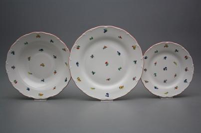 Plate set Ofelia Sprays 18-piece BCL č.1
