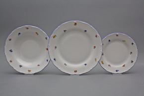 Plate set Ofelia Sprays 24-piece AAL