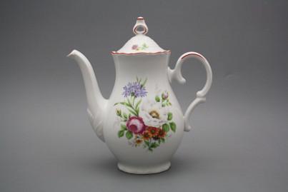 Coffeepot 1,2l Ofelia Meissen bouquet CL č.1