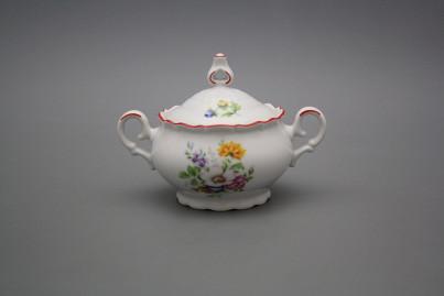 Tea sugar bowl 0,24l Ofelia Meissen bouquet CL č.1