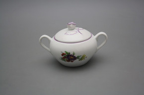 Sugar bowl 0,3l with handles Rokoko Bouquet FL