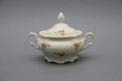 Sugar bowl 0,25l Alaska ECRU Tea roses BB č.1
