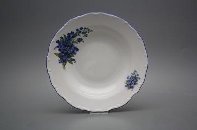 Deep plate 23cm Ofelia Forget-me-not DAL č.1