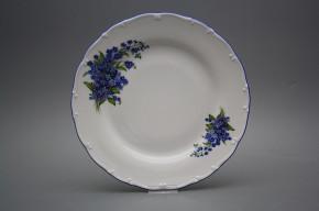 Flat plate 25cm Ofelia Forgel-me-not DAL