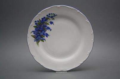 Flat plate 25cm Ofelia Forgel-me-not HAL č.1