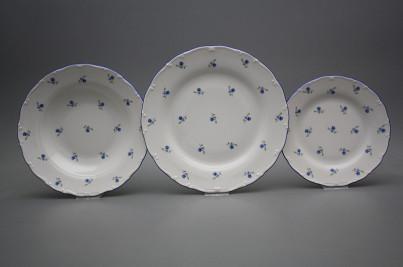 Plate set Ofelia Forget-me-not Sprays 24-piece BAL č.1