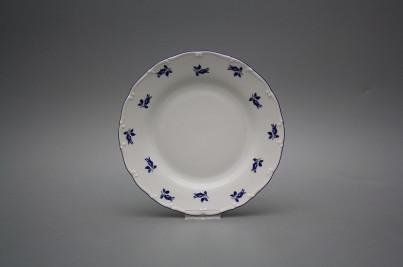 Dessert plate 19cm Ofelia Blue roses AML č.1