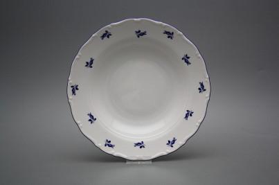 Deep plate 23cm Ofelia Blue roses AML č.1