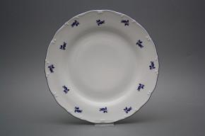 Flat plate 25cm Ofelia Blue roses AML