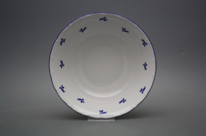 Deep dish 23cm Ofelia Blue roses AML