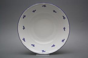 Deep dish 25cm Ofelia Blue roses AML