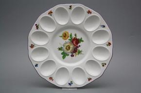 Tray for eggs 24cm Rokoko Bouquet FL