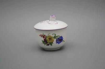 Sugar bowl 0,2l without handles Rokoko Bouquet FL č.1