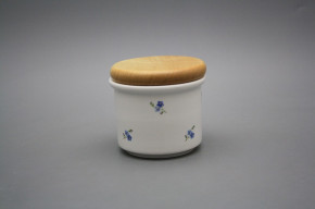 Box with wooden cover A - small Forget-me-not Sprays BB