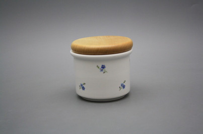 Box with wooden cover A - small Forget-me-not Sprays BB č.1