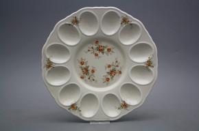 Tray for eggs 24cm Rokoko ECRU Tea roses BB