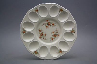 Tray for eggs 24cm Rokoko ECRU Tea roses BB č.1