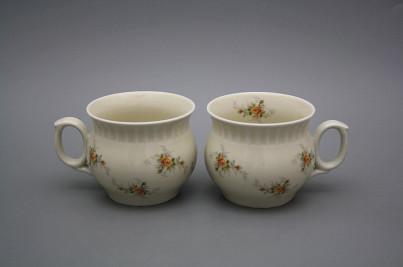 Mug Darume 0,29l ECRU Tea roses BB č.1