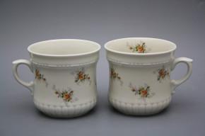 Pearl mug big 0,37l ECRU Tea roses BB