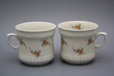 Pearl mug big 0,37l ECRU Tea roses BB č.1