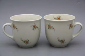 Mug Mirek 0,4l ECRU Tea roses BB