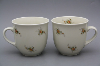 Mug Mirek 0,4l ECRU Tea roses BB č.1