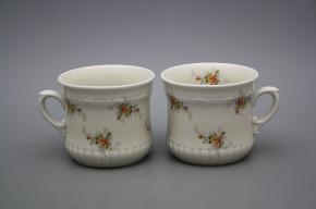 Pearl mug small 0,26l ECRU Tea roses BB