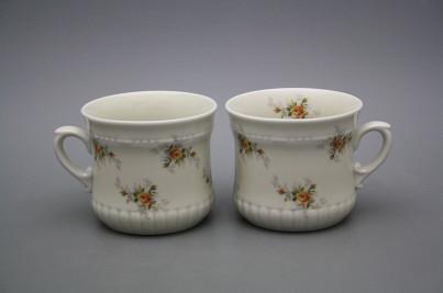 Pearl mug small 0,26l ECRU Tea roses BB č.1