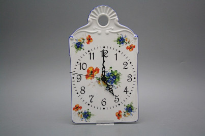 Cutting board clock Field flowers AL č.1