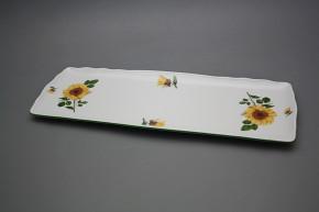 Tray square 45cm Rokoko Sunflowers ZL