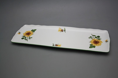 Tray square 45cm Rokoko Sunflowers ZL č.1