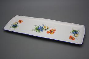 Tray square 45cm Rokoko Field flowers AL
