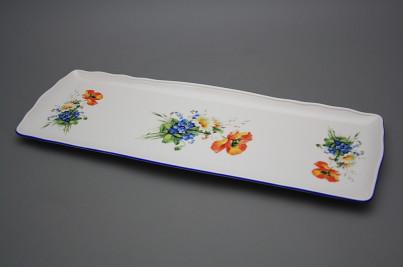 Tray square 45cm Rokoko Field flowers AL č.1