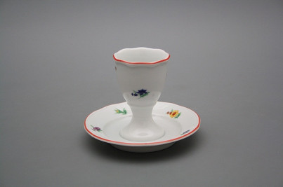 Egg cup with stand Rokoko Sprays CL č.1