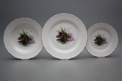 Plate set Ofelia Provence 24-piece IFL č.1