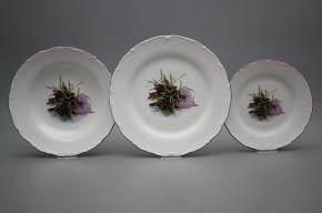 Plate set Ofelia Provence 18-piece IFL